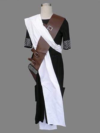 CTMWEB Anime Naruto Cosplay Costume - Gaara 1st Black Version Set X-Small