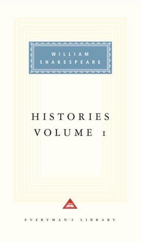 Histories, WILLIAM SHAKESPEARE, TONY TANNER, SYLVAN BARNET