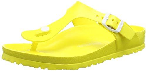BirkenstockGizeh EVA - Infradito Donna , Giallo (Gelb (Neon Yellow)), 38