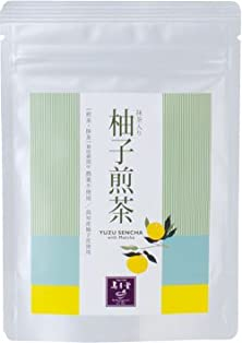 buy Japanese Yuzu Sencha Green Tea With Matcha (Pesticide-Free)- 10 Foil-Wrapped Tea Bags