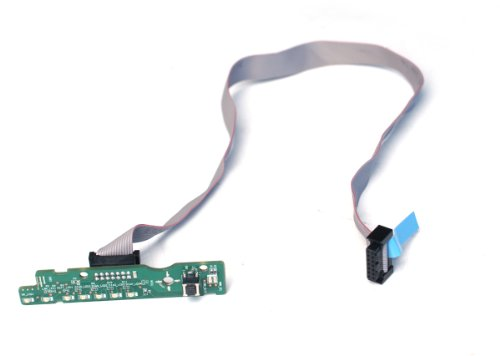 Genuine Dell Power Button Led Control Board/Panel Status Board Assembly With Cable Compatible Systems Optiplex 960 Dt Optiplex 960 Sff Compatible Part Numbers: M037F (Board), D141T, F765D (Cables)