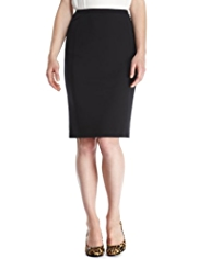 M&S Collection Stretch Ponte Skirt