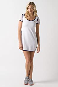 Mesh Short Sleeve Tennis Dress