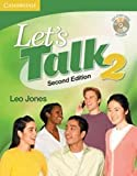 By Leo Jones - Lets Talk Students Book 2 with Self-study Audio CD: 2nd (second) Edition