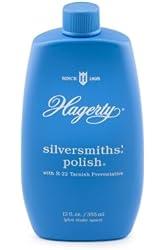 Hagerty 10120 Silversmiths' Silver Polish, 12 Ounces