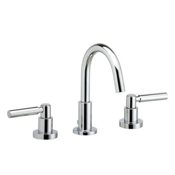 Phylrich D131/004 Basic Satin Brass Widespread Bathroom Faucet