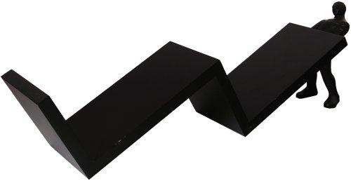 preciousmemory CDホルダー ウェーブ ブラック PM-402BK