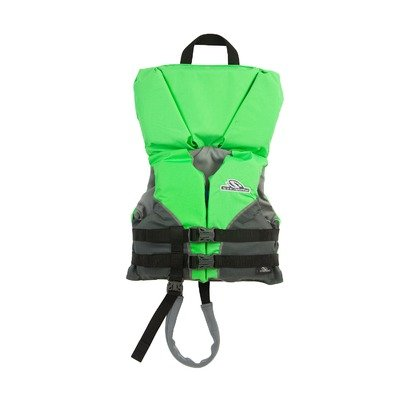 PFD 5976 Type LI Heads Up Life Jacket in Green Size: Infant