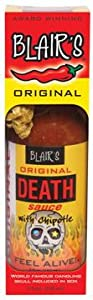 Blairs Original Death Hot Sauce 5 Fl Oz from AmericanSpice.com