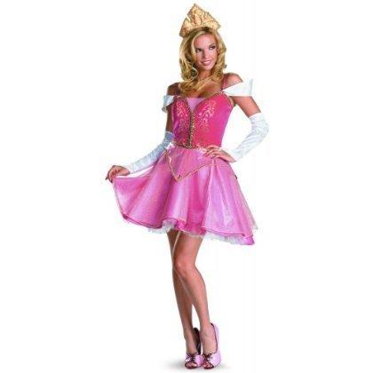 Halloween 2017 Disney Costumes Plus Size & Standard Women's Costume Characters - Women's Costume CharactersAurora Sassy Prestige Costume - Standard Sizes to Size 14