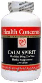 Calm Spirit 270 Tablets by Health Concerns