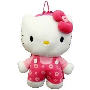 Hello Kitty Plush Backpack Doll Stuffed Toy - 1
