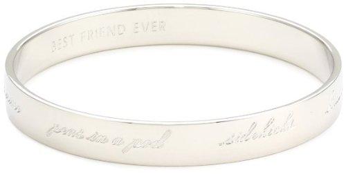 Kate Spade New York 'Bridesmaid' Engraved Idiom Bangle Bracelet ladies [parallel import goods]