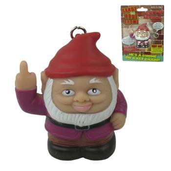 Randy The Rude Gnome Keychain