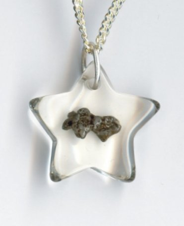 Meteorite Jewelry Pendant Kids - Star
