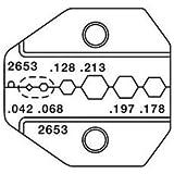 Paladin Tools 2653 SMA, SMB, Mini-59 BNC/TNC, Mini-UHF - RG58/174 Die