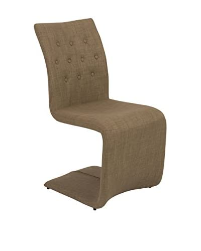 Eurostyle Zad Side Chair, Mocha