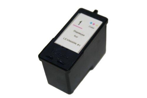 Druckerpatrone Farbe ersetzt Lexmark Nr. 1 für Lexmark: X 2330, X 2350, Z 735, X 2310, X 3480, X 2315, X 2320, X 2340, X 2360, X 2370, X 2460, X 2465, X 2480, X 2450, X 3450, X 3470, X 2470, X 2300 Series, X 2400 Series, X 3400 Series