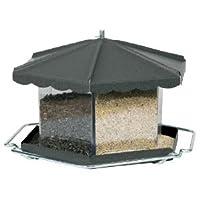 Homestead 3506 Triple Bin Party Bird Feeder, Capacity: 11.5 lb, Bronze - Manufacturer: Homestead - Model: 356