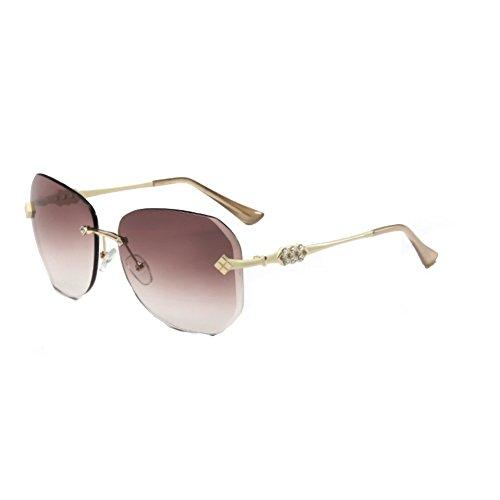 SG990032C4 UV400 PC Lens Fashion Metal Frames Women's Sunglasses