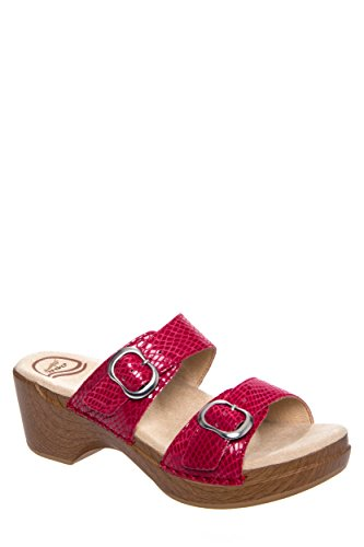 Dansko Sophie Low Wedge Slip On Sandal