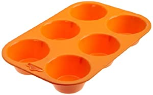 Casabella Silicone Large Muffin Pan