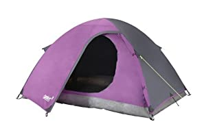 Gelert Eiger 2 Tent - Deep Purple/Charcoal