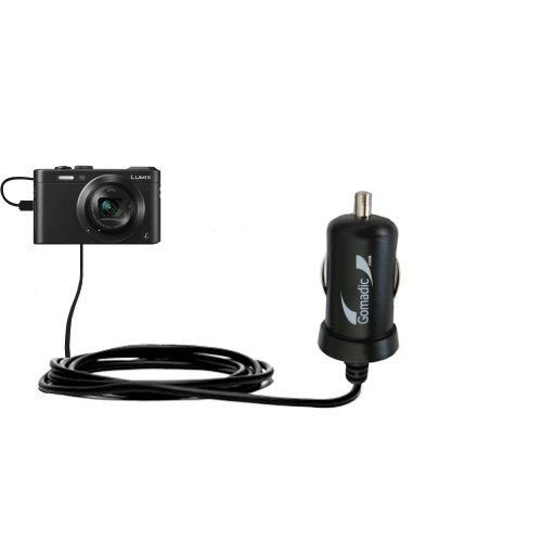 Intelligentes 2A / 10W Kompakt-Ladegerät DC kompatibel mit Panasonic Lumix LF1 / DMC-LF1 mit TipExchange Technologie