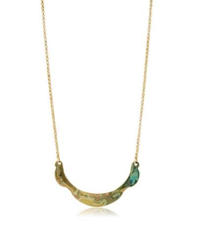 We Dream in Colour Luna Necklace, Green
