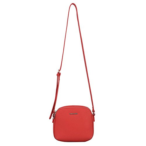 Borsa Messenger David Jones Caggie Womens One Size Rosso