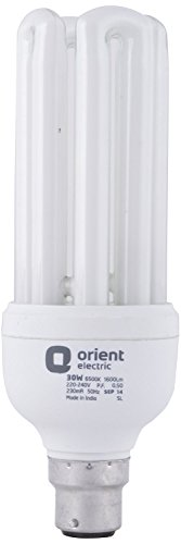 Orient 85 Watt CFL Bulb (White, Pack of 2)