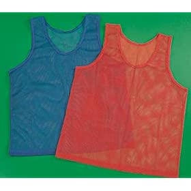 Youth Sports Pinnie (Red)