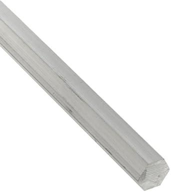 6061 Aluminum Hex Bar, Unpolished (Mill) Finish, T6 Temper, ASTM B221/AMS QQ-A-225