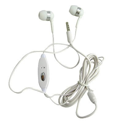 3.5Mm Ear Buds Headset White For Apple Iphone, Iphone 3G, 3Gs/ Iphone 4, Iphone 4 (Verizon), Iphone 4S/ Ipod Touch (4Th Generation)/ Ipad / Ipad 2