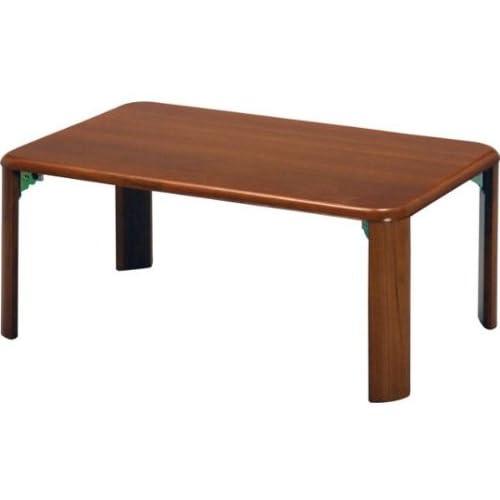 折脚ローテーブル『9060』【IT】サイズ:約900×600×320mmブラウン(#9837515)【座卓 机 ミニテーブル 折れ脚テーブル】