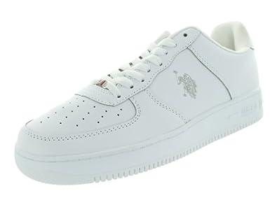 U.S Polo Assn. Men's Branson White/Grey Casual Shoe 7 Men US