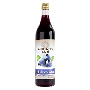 ... SUN BLUEBERRY SYRUP 1L : Maple Syrups : Grocery & Gourmet Food