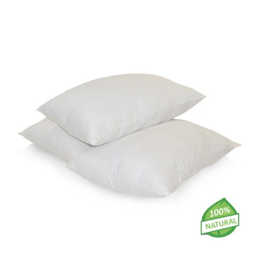 Natural Latex Cushion Pillow With Organic Cotton Covering