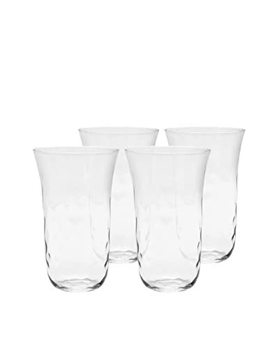 Padma Collection Optic 20-Oz. Coolers, Clear, Set of 4
