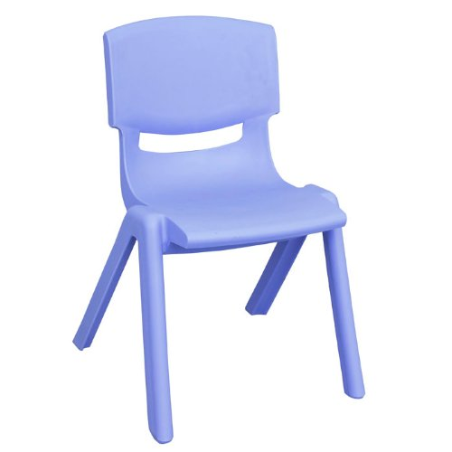 """Stacking Resin Activity Chair 12""""H Seat front-914079"""