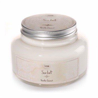 サボン Sorbet Body Gel #Vanilla Coconut シャーベットボディジェル バニラココナッツ