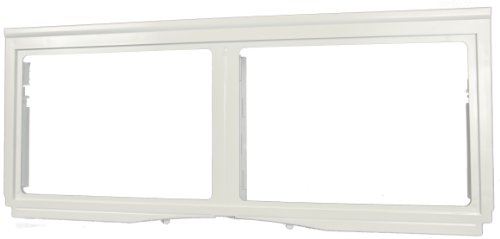 LG Electronics 3550JJ1079A Refrigerator Vegetable Shelf and Drawer Support Assembly, White