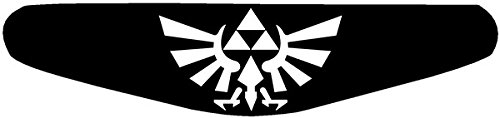 Play Station PS4 Lightbar Sticker Aufkleber Zelda (schwarz) Picture
