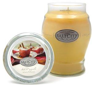 Salt City Baked Apple 26oz Jar Candle
