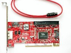 eSata / Sata / IDE PCI RAID Controller Card VIA VT6421A Chip Set