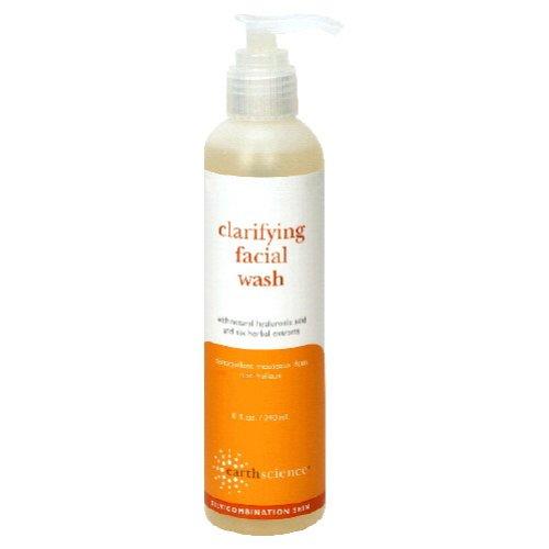 Earth Science Clarifying Facial Wash, 8 Ounce
