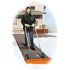 Dakota SnoBlade Snow Blade Removal Shovel w/ Wheels