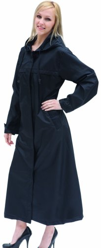 Shaynecoat Raincoat for Women Black XL