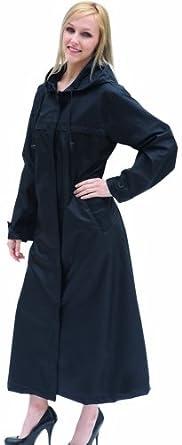 Shaynecoat Raincoat for Women Black XL