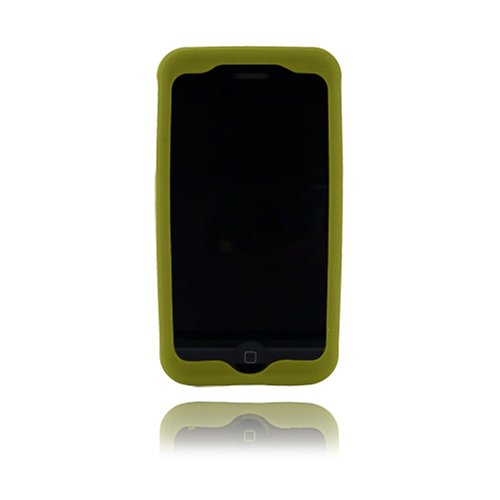 Incipio dermaSHOT Silicone Case for iPhone 3G, 3G S (Olive Green)